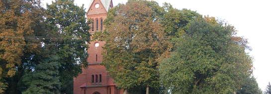 Kościół ewangelicki, obecnie parafialny, rzymskokatolicki pw. Matki Bożej Wspomożycielki Wiernych