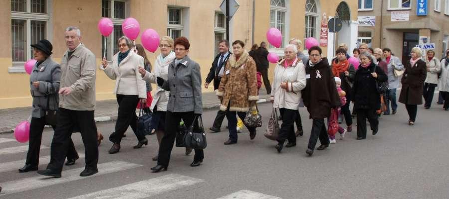 Kadr z III Marszu Życia i Nadziei - rok 2012