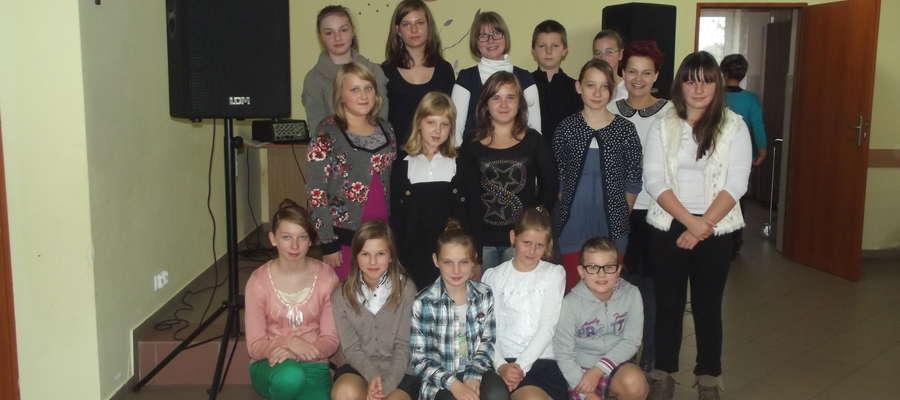 Dzieci ze szkoły w Tereszewie wystąpiły w Wielkich Bałówkach