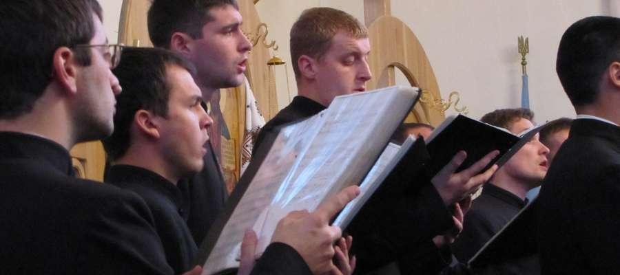"""Chór Seminarium Duchownego """"Oranta"""" z Drohobycza"""