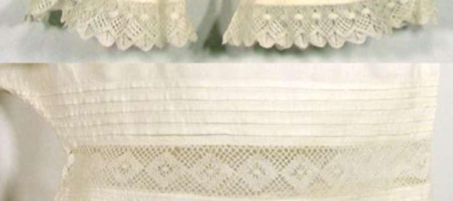 Koronki były nieodłącznym elementem ozdobnym XIX wiecznej bielizny