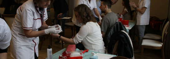 Dawcy szpiku dla Kamili poszukiwano również w Elblągu