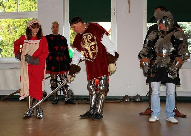Rycerze w Centrum Edukacji w Olecku - full image