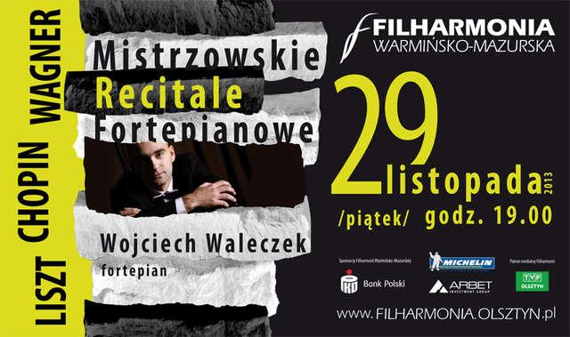 """""""Mistrzowskie recitale fortepianowe"""" w Filharmonii Warmińsko-Mazurskiej - full image"""