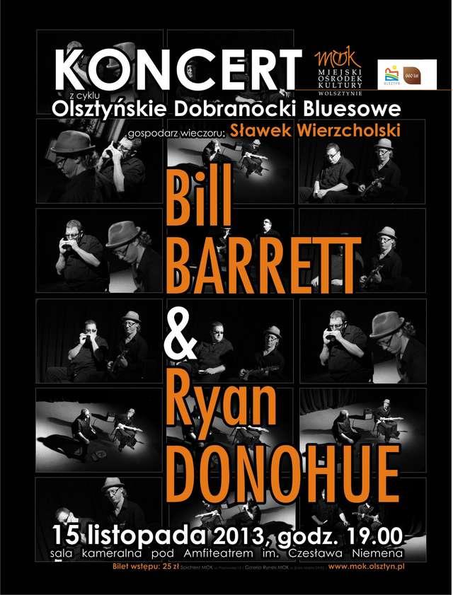 Dobranocki Bluesowe: Koncert Billa Barretta & Ryana Donohue - full image