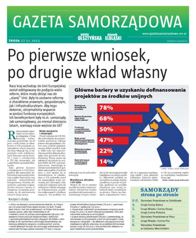 Gazeta Samorządowa - 27.11.2013 - full image