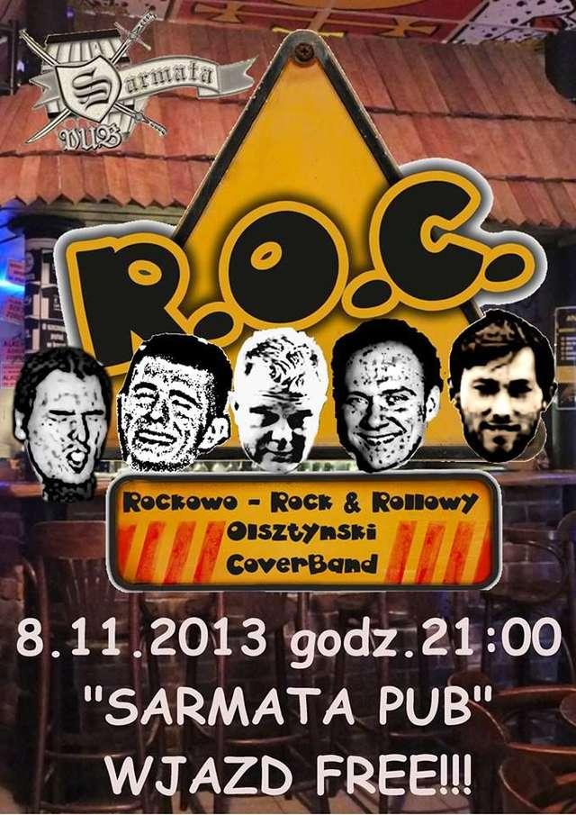 Koncertowa Sarmata. Na scenie Bracia Soprano i R.O.C. Band  - full image