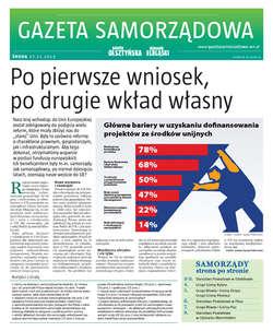 Gazeta Samorządowa - 27.11.2013
