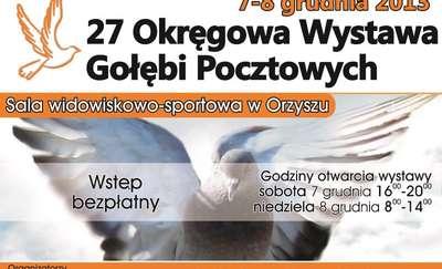 27 Okręgowa Wystawa Gołębi Pocztowych