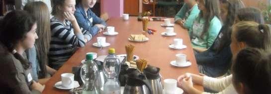 Warsztaty dziennikarskie w Kuczborku