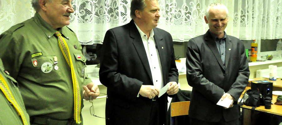 Odznaczenia Hufca otrzymali Piotr Wlizło i Tomasz Ogrodowczyk