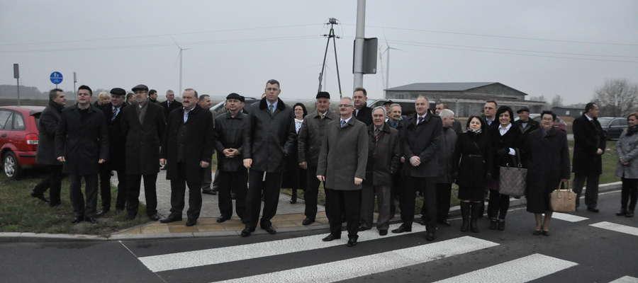 W uroczystości wzięli udział m.in. radni obecnej kadencji f
