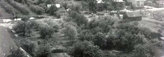 Stare zdjęcie, ulica Szpitalna stan przed wywłaszczeniem
