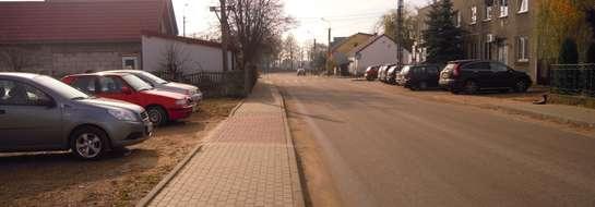 Nowy chodnik w Lutocinie