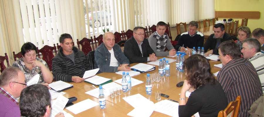 Posiedzenie komisji stałych Rady Gminy Wieliczki