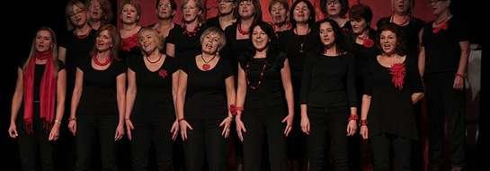 Lidzbarskie Chóraczki zaśpiewały gościom podczas urodzinowego koncertu