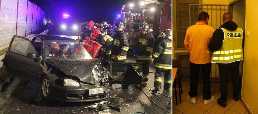 Sprawca wypadku pod Spręcowem został aresztowany na dwa miesiące