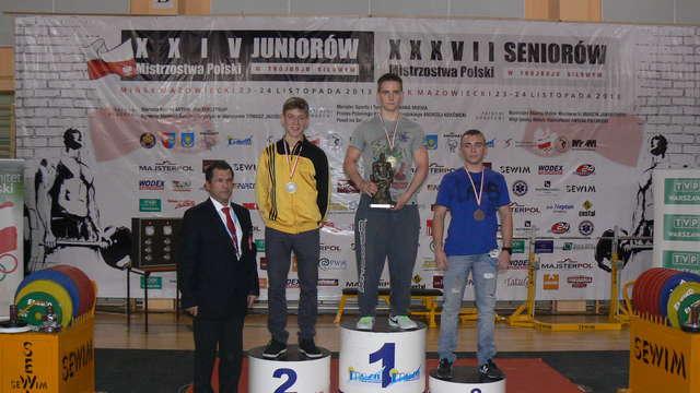 Piotr Markiewicz (z lewej) i Patryk Kuca podczas mistrzostw
