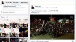 Polska, Polska...Skandował tłum w Kijowie kiedy przemawiali Schetyna i Sycz