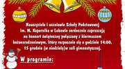 Lubawska podstawówka zaprasza na świąteczny koncert