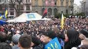Ukraina protestuje. Milicja odmawia rozpędzania demonstracji