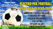Elektro-Mix Football Liga Lega Olecko 2014