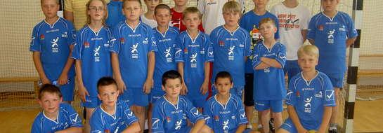 Młodzieżowy zespół szczypiornistów Wkry Bieżuń zagra w I lidze