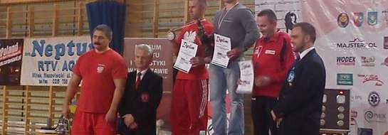 Mariusz Grotkowski stanął na najwyższym stopniu podium