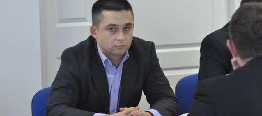 Marek Budzich na sesji 4 grudnia interpelował w sprawie działek przy ulicy szpitalnej