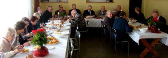 Kombatanci przy wigilijnym stole