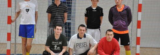 Zwycięska drużyna z Poniatowa