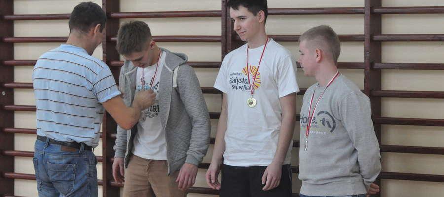 Najlepsi odbierają medale