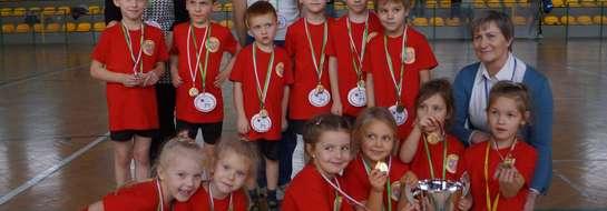 Zwycięska grupa z Lidzbarka