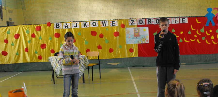 Inscenizacja w wykonaniu dzieci z Lipinek