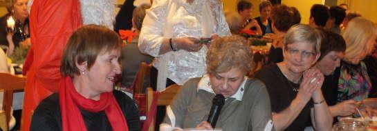 Spotkanie wigilijne Koła Ligi Kobiet Polskich Fantazja