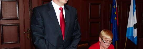 Henryk Nikonor jest czwartym przewodniczącym w obecnej kadencji Rady Miejskiej