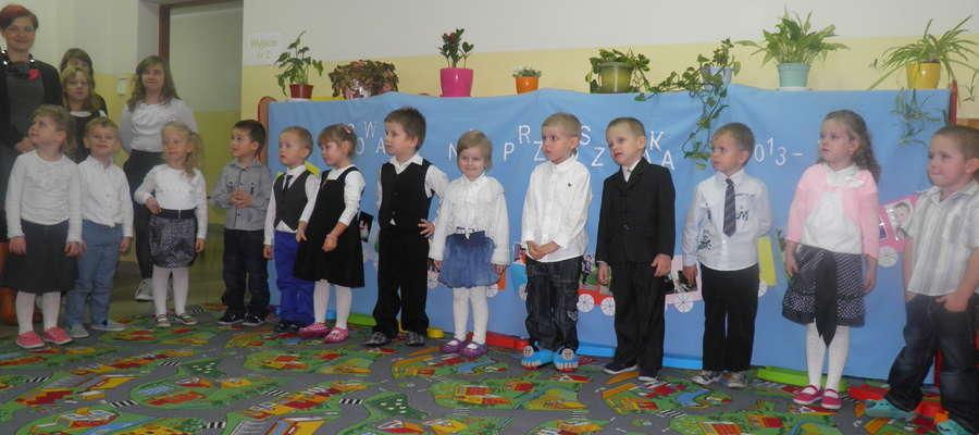 Maluchy z punktu przedszkolnego