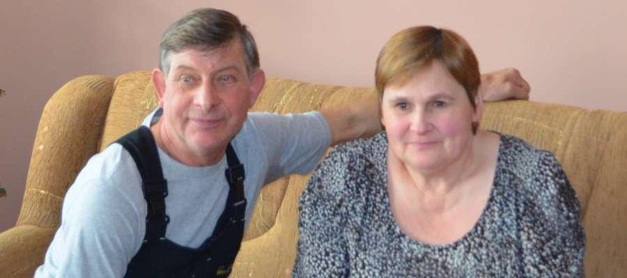 Kazimierz Rozberg z żoną