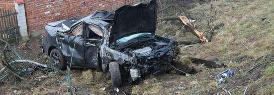 Kierowca tej hondy śmiertelnie potrącił pieszego 31. grudnia 2013 r. Sąd zakazał mu kierowania pojazdami na rok. Marcin C. jednak nie przejąl się tym zakazem.