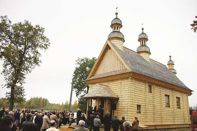 Pierwsze święta w cerkwi, która przyjechała za wiernymi  - full image