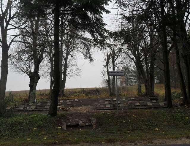 Cmentarz w Michałkach - full image