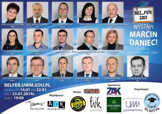 Marcin Daniec wystąpi na specjalnej gali UWM - full image
