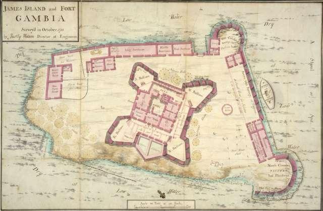 """Mapa zamorskich """"posiadłości"""" Rzeczpospolitej - full image"""