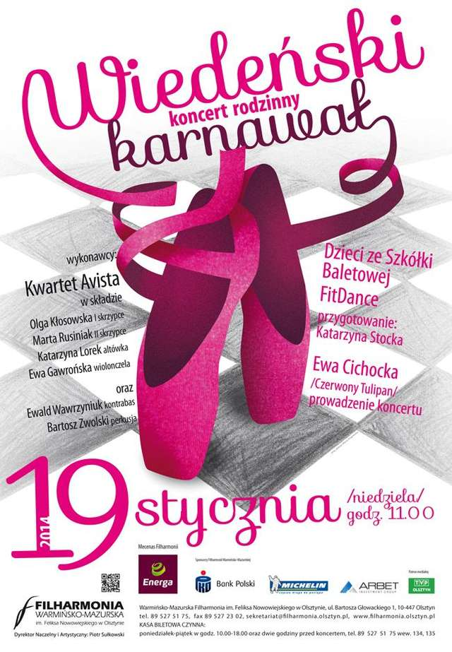 Koncert rodzinny w Filharmonii Warmińsko-Mazurskiej - full image
