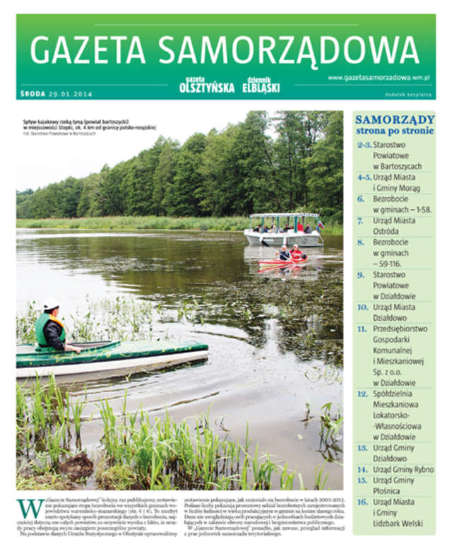 Gazeta Samorządowa - 29.01.2014 - full image