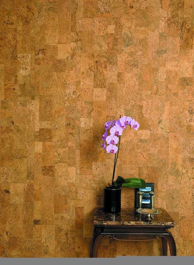 Ocieplający korek na ścianie - full image