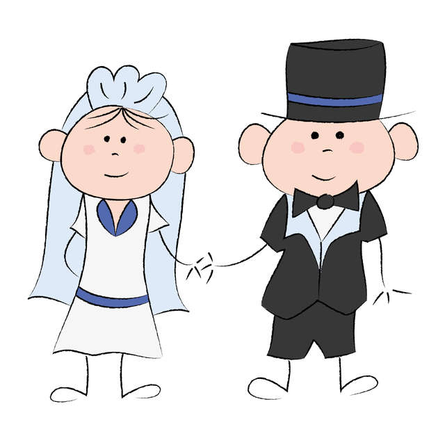 Kalendarz ślubnych przyotowań - full image