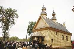 Pierwsze święta w cerkwi, która przyjechała za wiernymi