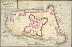 """Mapa zamorskich """"posiadłości"""" Rzeczpospolitej"""