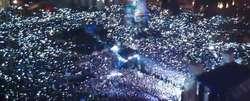 500 tysięcy Ukraińców zaśpiewało hymn Ukrainy